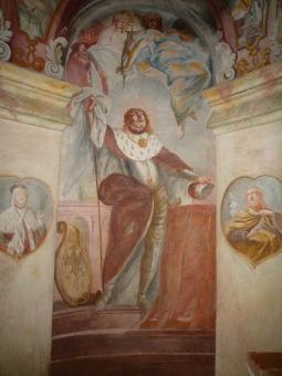 po restaurování - sv. Václav