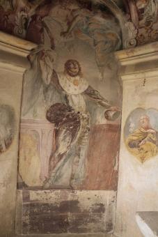 před restaurováním - sv. Václav