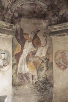před restaurováním - sv. Vojtěch