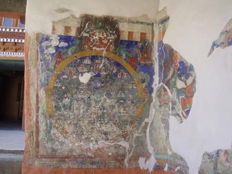 Kolo Života, Bhavačakra - stav před restaurováním