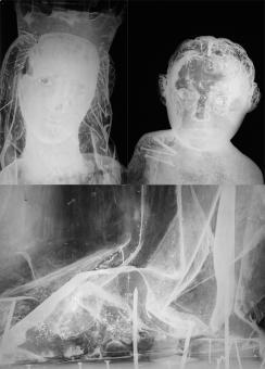 optický průzkum - RTG snímky